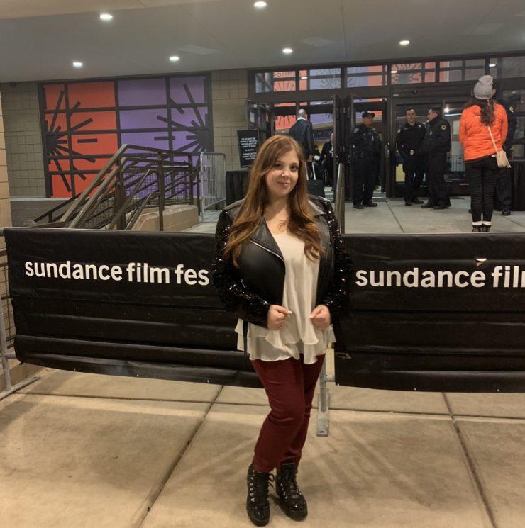 Rachel Redleaf at Sundance.