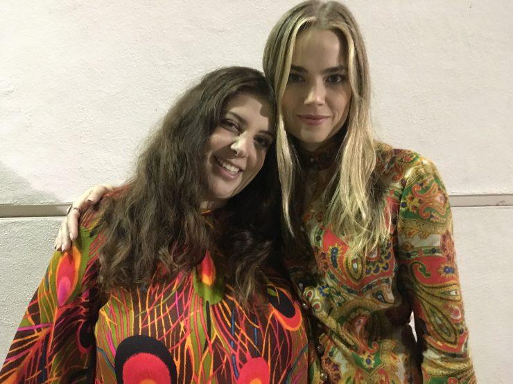 Rachel Redleaf with Margot Robbie