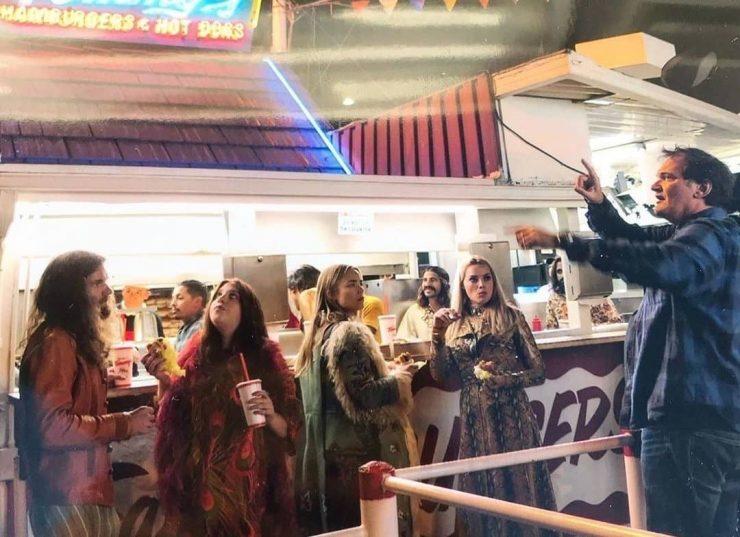 Rachel Redleaf with Quentin Tarantino
