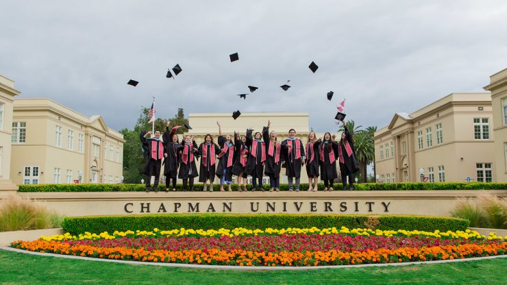 Chapman students celebrate at Commencement