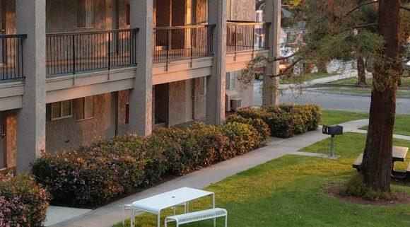 Empty student housing