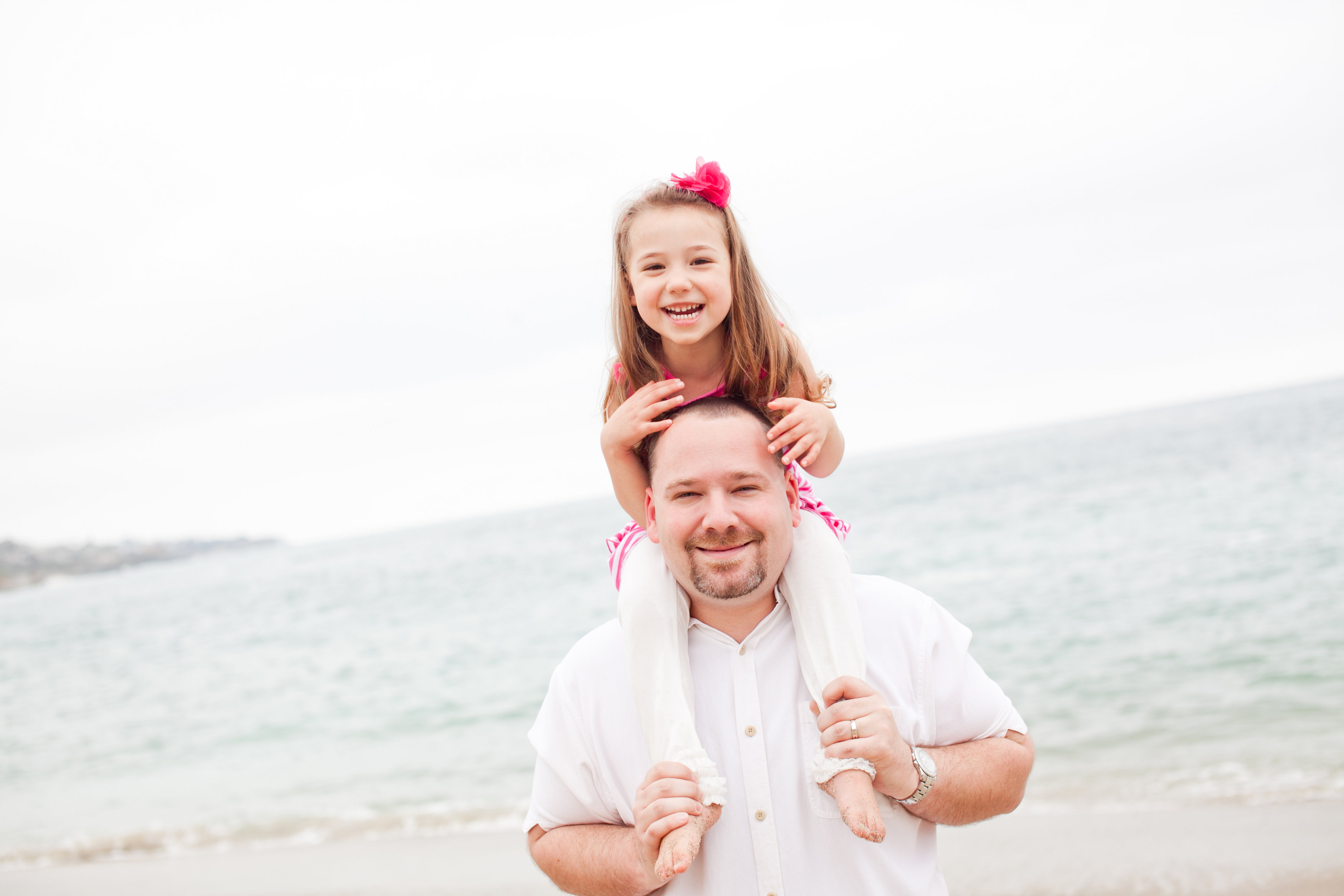 Eriik Linstead with daughter Hannah.