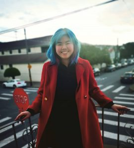 Ginger Chen '20 in San Francisco.