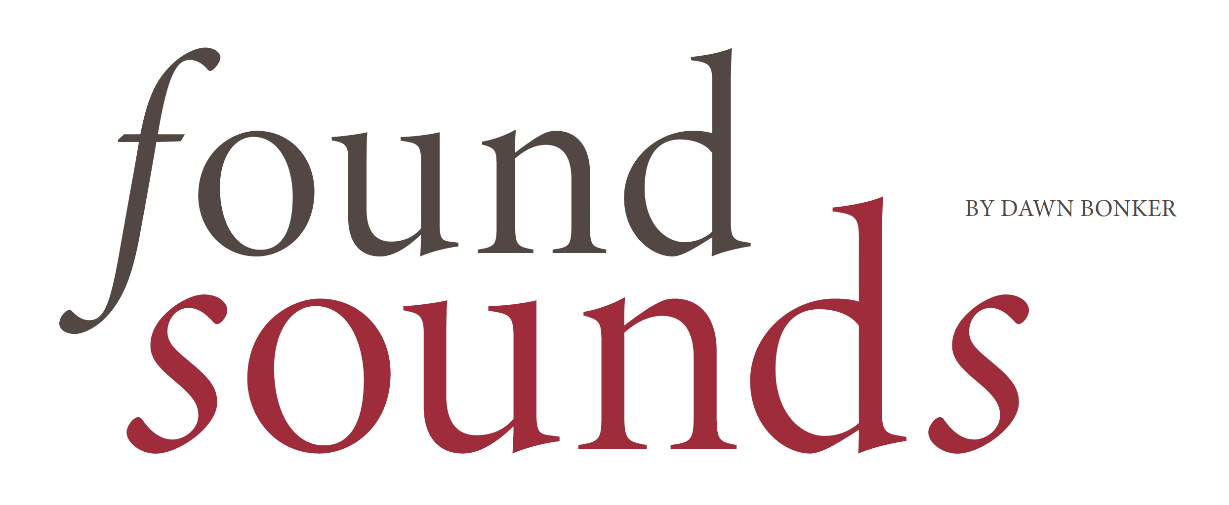 Found Sounds Title Header