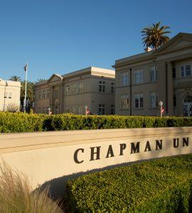memorial hall at chapman unversity