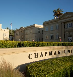 memorial hall at chapman unversity