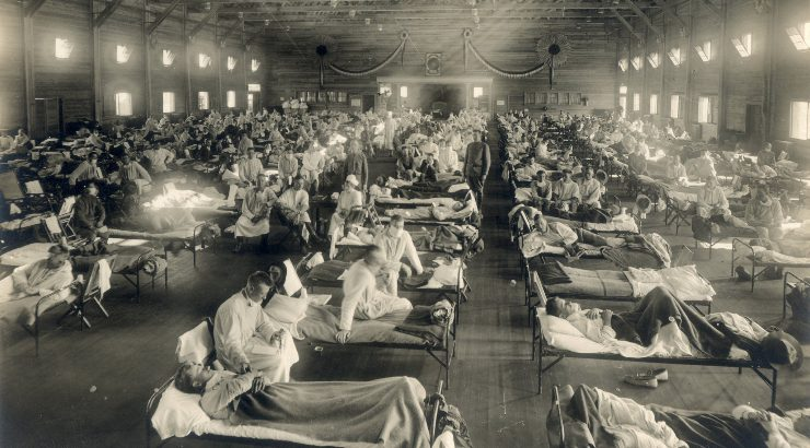 1918 flu ward