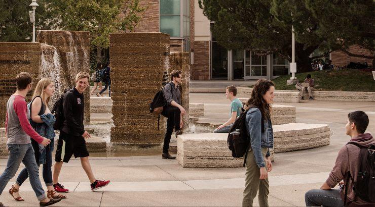 Attallah Piazza at Chapman University