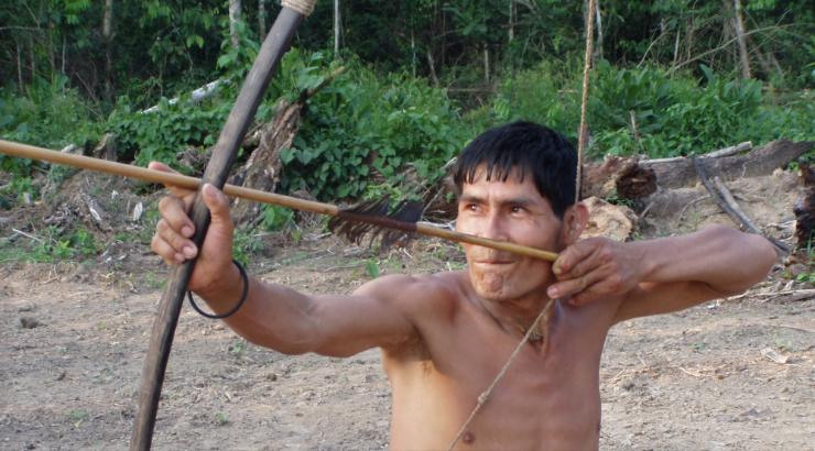 A Tsimane archer