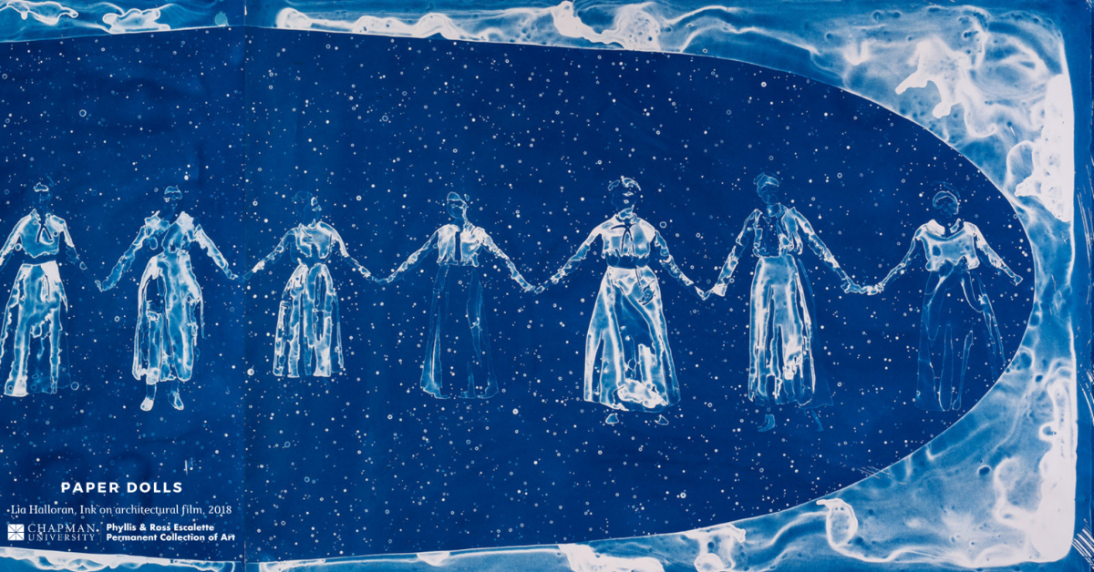 Women scientists holding hands.