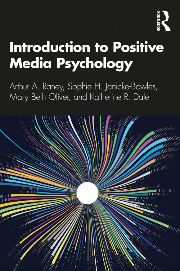 book cover for introduction to positive media psychology