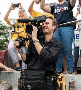 Film alumnus Drew Heskett