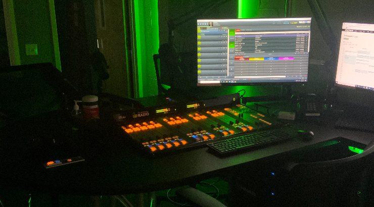 The new studio.