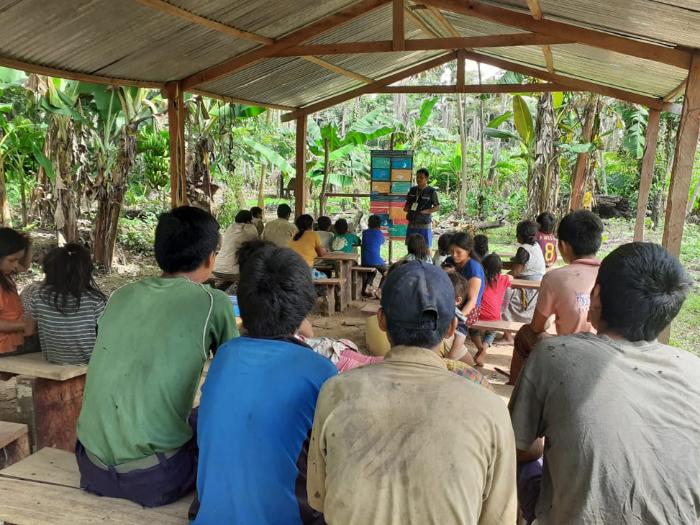 Tsimane villagers in the Amazon