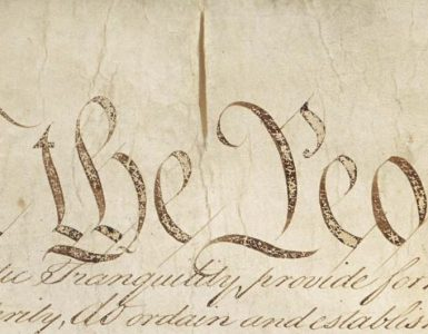"""partial text """"we the people"""" from u.s. constitution"""