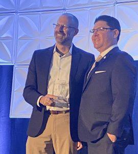 Andrew Lyon receives Distinguished Educator Award