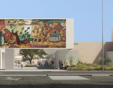 Artist rendering of redone Hilbert Museum
